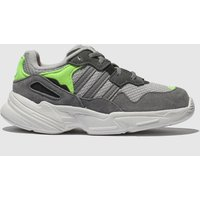 Adidas Grey Yung 96 Trainers Toddler