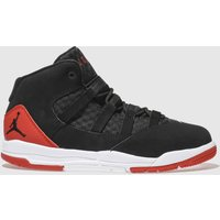 Nike Jordan Black & Red Jordan Max Aura Trainers Junior