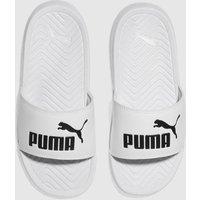 Puma White Popcat Trainers Junior