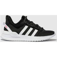 Adidas Black & White U_path Run Trainers Junior