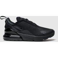 Nike Black Air Max 270 Trainers Junior