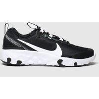 Nike Black & White Renew Element 55 Trainers Junior
