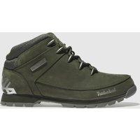Timberland Khaki Euro Sprint Hiker Boots