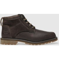 Timberland Dark Brown Larchmont 5 Eye Chukka Boots