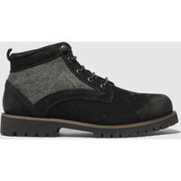 Schuh-Black-Commander-Mix-Boots