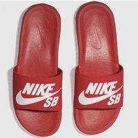 Nike Sb Red Benassi Solarsoft Sandals