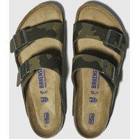 Birkenstock-Khaki-Arizona-Soft-Footbed-Sandals