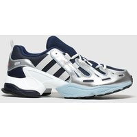Adidas-Grey-and-Navy-Eqt-Gazelle-Trainers