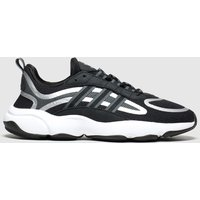 Adidas Black & Silver Haiwee Trainers