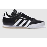Adidas-Black-and-White-Samba-Super-Trainers