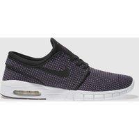 Nike Sb Black & Purple Stefan Janoski Max Trainers