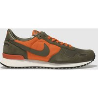 Nike Orange Air Vortex Trainers