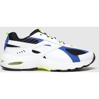 Puma-White-and-Blue-Cell-Speed-Trainers