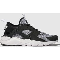 Nike White & Black Air Huarache Run Ultra Se Trainers