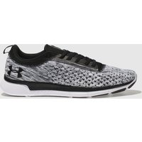 Under Armour White & Black Lightning 2 Trainers