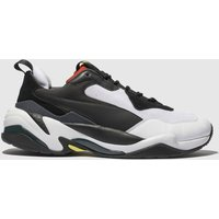 Puma-White-and-Red-Thunder-Spectra-Trainers