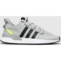 Adidas Grey & Black U_path Run Trainers