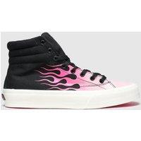 Straye Black & Pink Venice Trainers