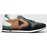 Guess-Black-and-Green-New-Glory-Trainers
