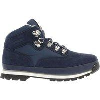 timberland navy & white euro hiker Boys Junior Boots