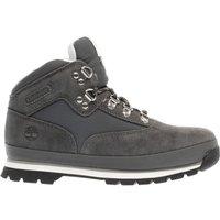 timberland grey euro hiker Boys Junior Boots