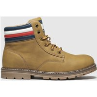 Tommy Hilfiger Natural Lace Up Boot Boots Youth