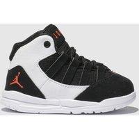 Nike Jordan White & Black Max Aura Trainers Toddler