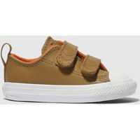 Converse Tan Chuck Taylor All Star 2v Trainers Toddler