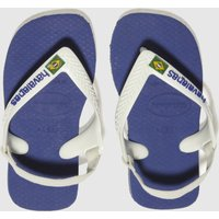 havaianas blue brasil logo Boys Toddler Sandals