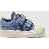 Converse Blue Star Player 2v Ox Boys Toddler Trainers