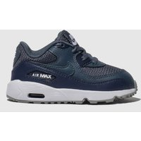 Nike Navy Air Max 90 Mesh Trainers Toddler