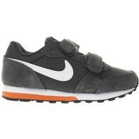 nike dark grey md runner 2 boys junior