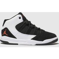 Nike Jordan White & Black Max Aura Trainers Junior