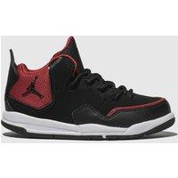 Nike Jordan Black & Red Courtside 23 Trainers Junior