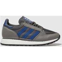 Adidas Dark Grey Forest Grove Trainers Youth