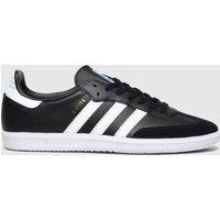 Adidas Black & White Samba Og Trainers Youth