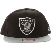 new era black & grey oakland raiders 9fifty