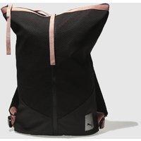 Puma Black & Pink Prime Zip Backpack Ep