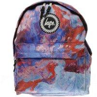 hype purple & blue elegance backpack bags