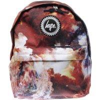 hype red & white backback bags