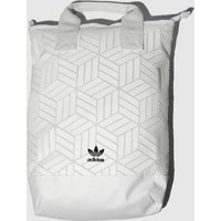 Adidas White Roll Top 3d