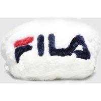 Accessories Fila White Aussie Faux Fur Bumbag