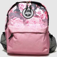 Accessories Hype Pink Backpack With Bottle Holder