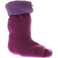 hunter purple glitter cuff kids sock socks