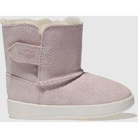 Ugg Pale Pink Keelan Sparkle Crib Shoes Baby