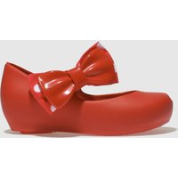 Melissa Red Mini Disney Boots Toddler
