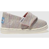 Toms Pink & Blue Classic Girls Toddler Shoes