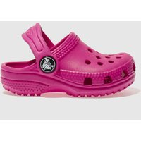 f0dd88b62 Crocs Pink Classic Clog Trainers Toddler from Schuh on Shop And Ship ...