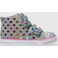 Skechers Multi Twinkle Toes Shuffles Lite Trainers Toddler