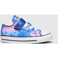 Converse Blue All Star Lo Miss Galaxy Trainers Toddler